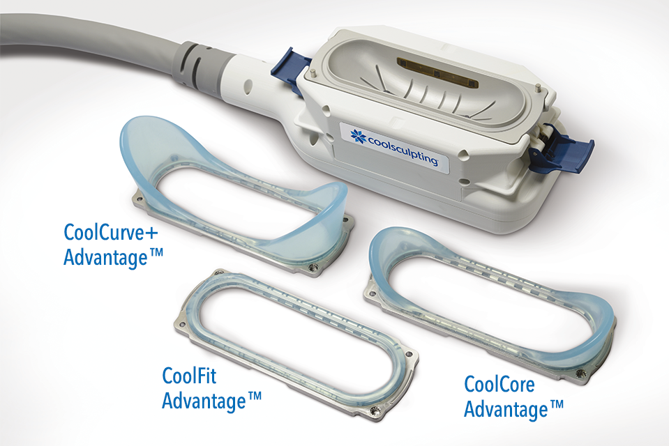 CoolAdvantage applicators including the new CoolCurve+, CoolFit and CoolCore